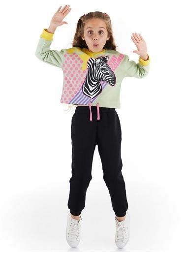Denokids Stay Colored Kız Eşofman Takım Renkli